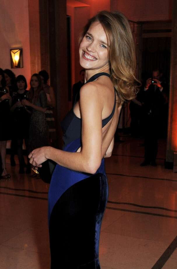 Natalia Vodianova arrives at the Harper's Bazaar Women of the Year awards at Claridge's Hotel on November 5, 2013 in London, England.  (Photo by David M. Benett/Getty Images) Photo: David M. Benett, Getty Images