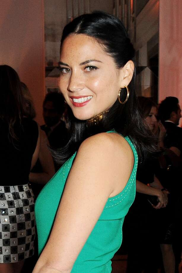 Olivia Munn arrives at the Harper's Bazaar Women of the Year awards at Claridge's Hotel on November 5, 2013 in London, England.  (Photo by David M. Benett/Getty Images) Photo: David M. Benett, Getty Images