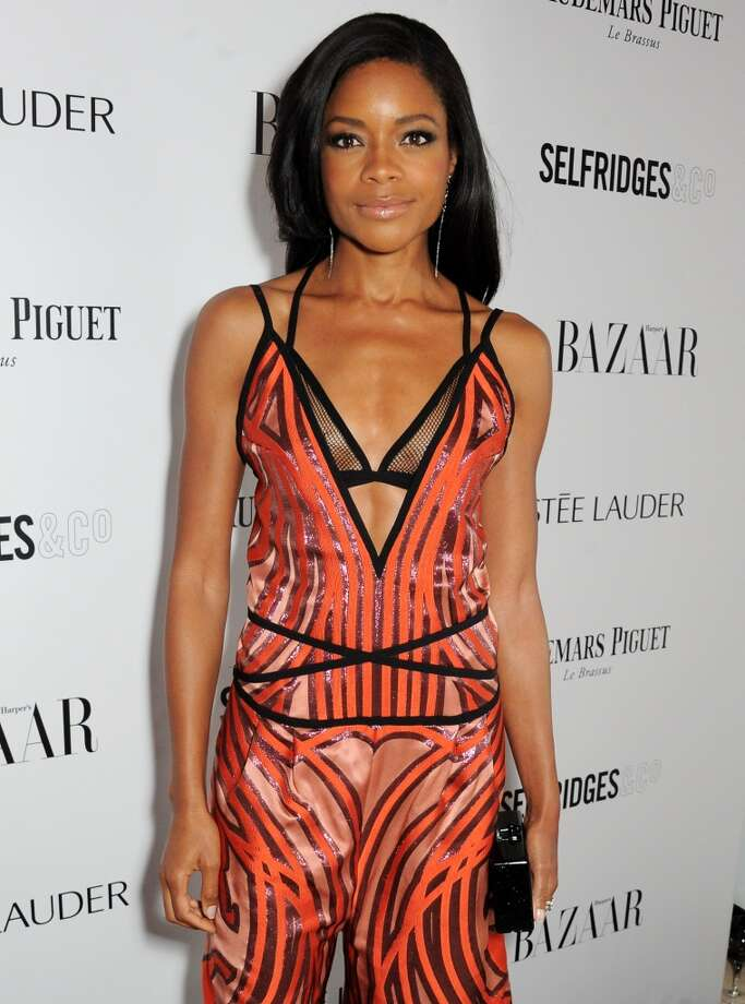 Naomie Harris arrives at the Harper's Bazaar Women of the Year awards at Claridge's Hotel on November 5, 2013 in London, England.  (Photo by David M. Benett/Getty Images) Photo: David M. Benett, Getty Images