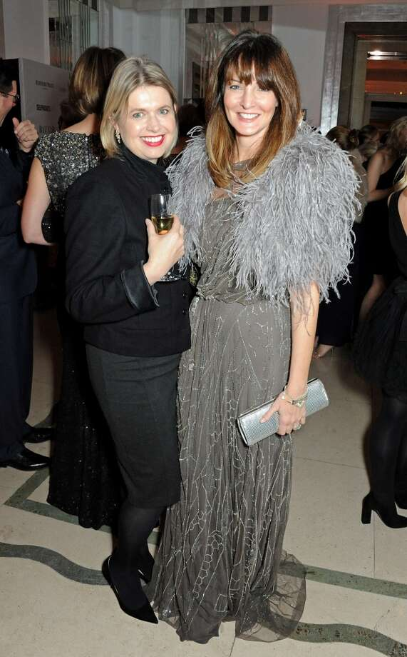 Jenny Packham (L) and Lauren Gurvich arrive at the Harper's Bazaar Women of the Year awards at Claridge's Hotel on November 5, 2013 in London, England.  (Photo by David M. Benett/Getty Images) Photo: David M. Benett, Getty Images