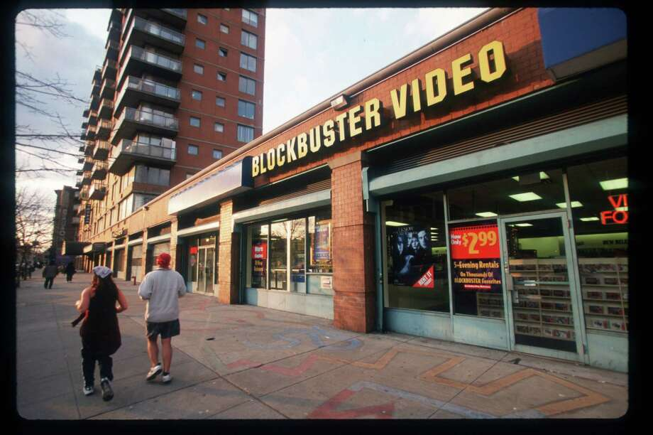 Blockbuster announced Wednesday that it's closing its remaining 300  United States retail stores, perhaps ushering in the end of retail video rental.  Photo: Jonathan Elderfield, Getty / Hulton Archive