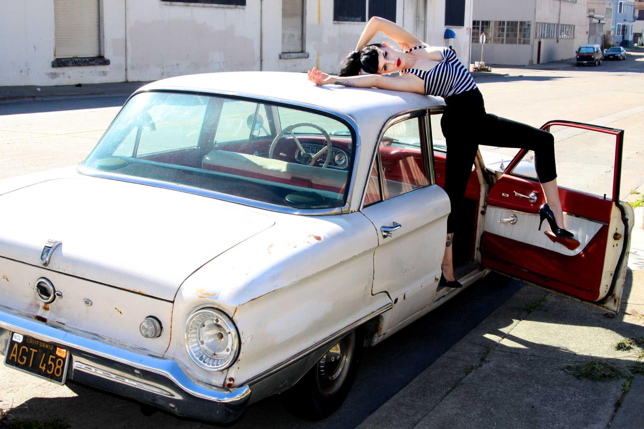 1962 Ford Falcon model's daily driver - Houston Chronicle