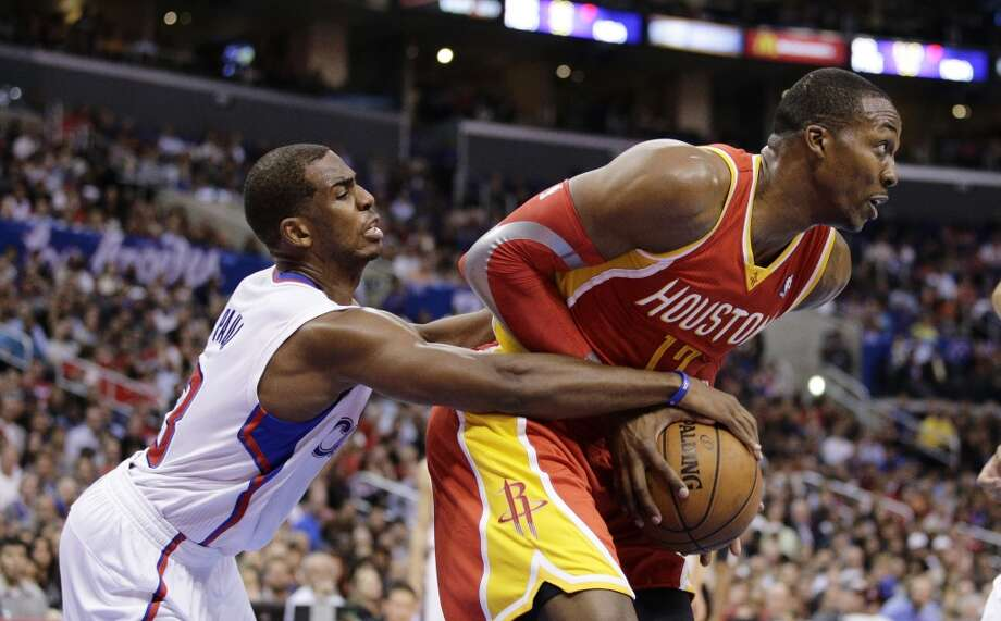 Nov. 4: Clippers 137, Rockets 118   Chris Paul lit up the Rockets for 23 points and 17 assists for Houston's first loss of the season.  Record: 3-1 Photo: Jae C. Hong, Associated Press