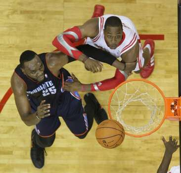 Oct. 30: Rockets 96, Bobcats 83  In his debut in Houston, Dwight Howard scored 17 points, hauled in 26 rebounds and had two blocked shots.  Record: 1-0 Photo: James Nielsen, Houston Chronicle