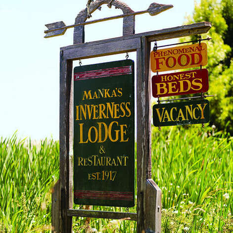 Manka's Inverness Lodge, Inverness, CA  Why it's cozy: Dinner delivered to your door in cast-iron pots in the eve; warm sticky buns and a thermos of coffee in the morn. Thick wool blankets, roaring fireplaces, and outdoor showers, some with private soaking tubs.  What's out the door: The Point Reyes National Seashore. (Enough said.)  Who will love it: Low-key, solitude-seeking couples, including (once) Prince Charles and Camilla.  2 one-bedroom cabins; $$$$; mankas.com  Read more: Top 10 vacation cabins & cottages   Photo: Thomas J. Story, Sunset.com