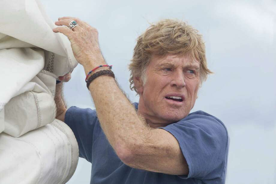 "Robert Redford stars in J.C. Chandor's ""All Is Lost."" Photo: Roadside Attractions"