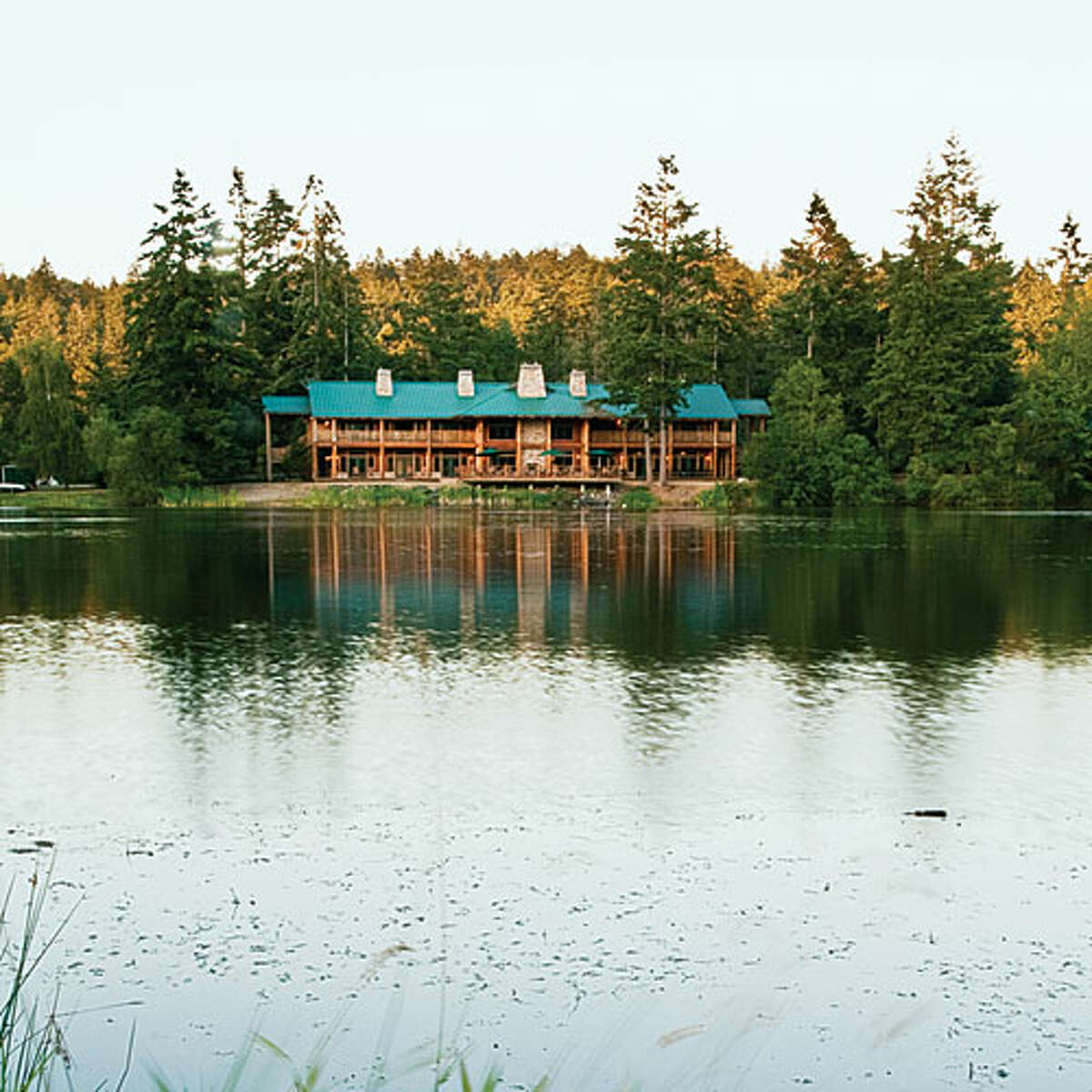 If you're lucky enough to live on or near the islands, we'd suggest taking a ferry to Friday Harbor, where you'll find plenty of swim spots at Lakedale Resort and Campground. Kid-friendly with restroom amenities nearby, you can nab a soda and some snacks from the nearby General Store, too.