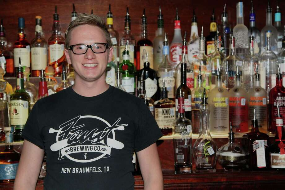 Trenton Wehe manages the bar.
