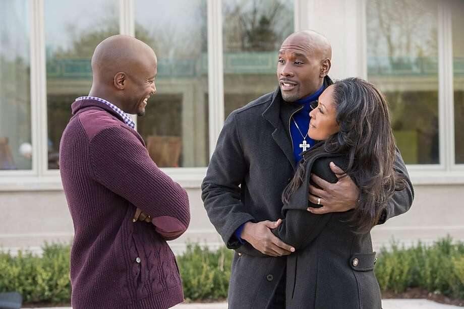"Taye Diggs, Monica Calhoun and Morris Chestnut star in ""The Best Man Holiday,"" opening Friday. Photo: Universal Pictures"