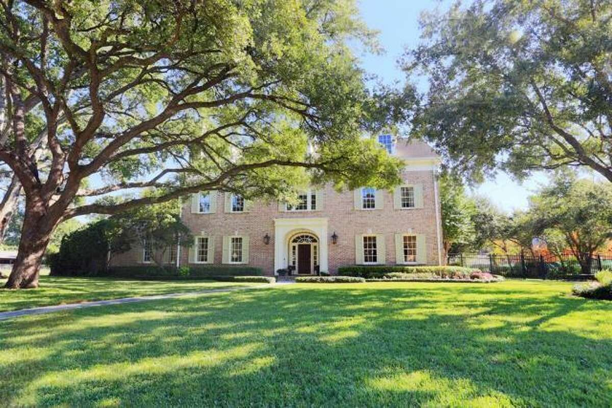The home is located on a beautiful half-acre lot.