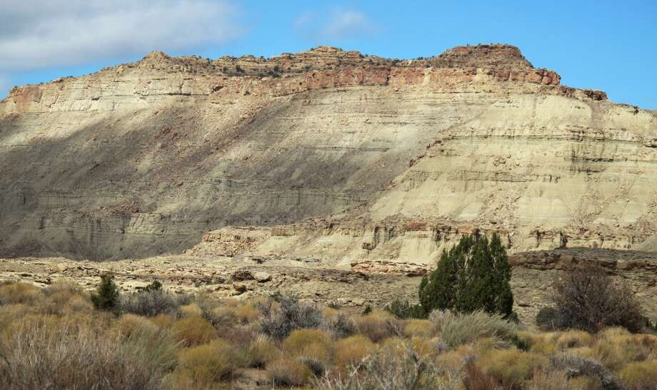 President Trump has issued a presidential proclamation cutting in half the Grand Staircase-Escalante National Monument in southern Utah. Conservationists and the outdoor industry are challenging him in court.  Photo: Mark Loewen, ASSOCIATED PRESS/Natural History Museum Of Utah
