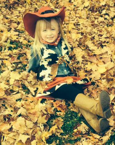 Yee Haw. Happy Halloween. Emma Rose Atkinson, 4, of Ballston Lake is the cutest cowgirl we ever did see! (Kelly Atkinson)