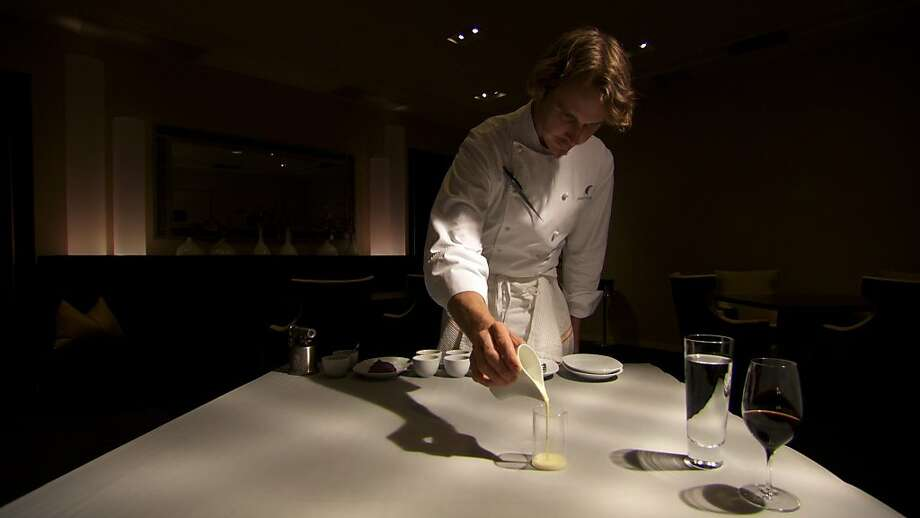 """Spinning Plates"" presents three chef stories, including that of cutting-edge superstar Grant Achatz of Chicago's Alinea, winner of three Michelin stars. Photo: Film Arcade"