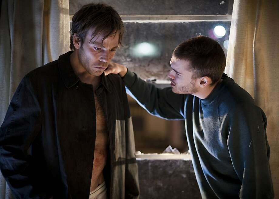 """Stephen Dorff (left) and Emile Hirsch play brothers in the dramatically inert """"The Motel Life."""" Photo: Jamie Kingham"""