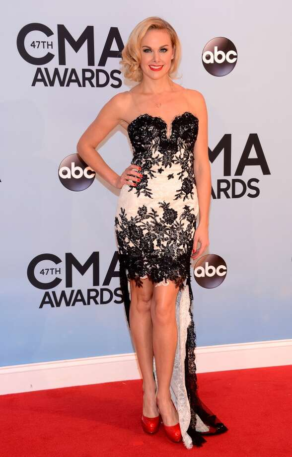 Actress Laura Bell Bundy attends the 47th annual CMA Awards at the Bridgestone Arena on November 6, 2013 in Nashville, Tennessee. Photo: Larry Busacca, WireImage