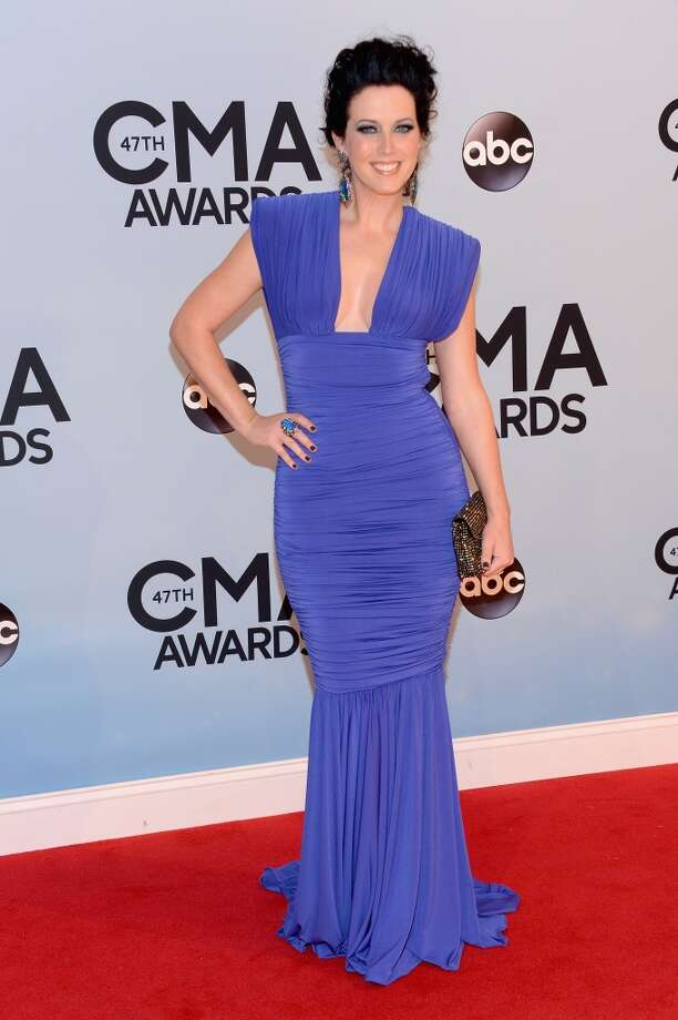 Shawna Thompson of Thompson Square attends the 47th annual CMA Awards at the Bridgestone Arena on November 6, 2013 in Nashville, Tennessee. Photo: Larry Busacca, WireImage