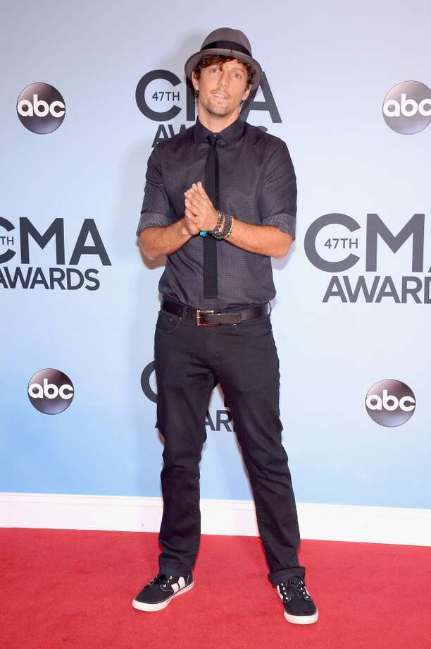 Jason Mraz attends the 47th annual CMA Awards at the Bridgestone Arena on November 6, 2013 in Nashville, Tennessee. Photo: Michael Loccisano, Getty Images