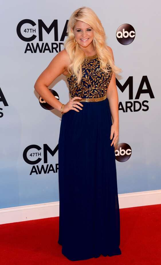 Lauren Alaina attends the 47th annual CMA Awards at the Bridgestone Arena on November 6, 2013 in Nashville, Tennessee. Photo: Larry Busacca, WireImage