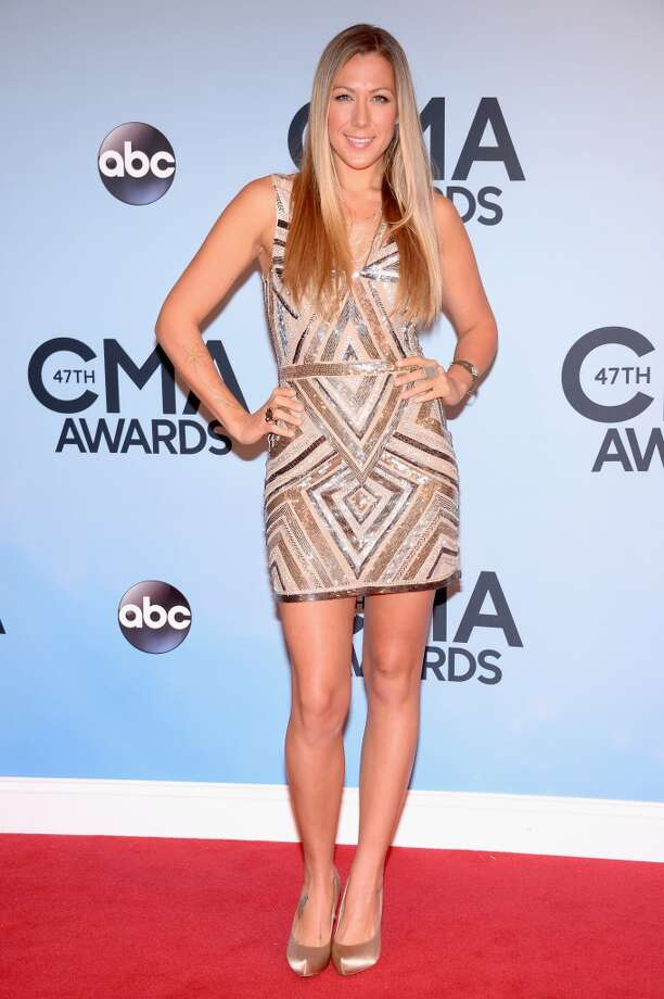 Musician Colbie Caillat attends the 47th annual CMA Awards at the Bridgestone Arena on November 6, 2013 in Nashville, Tennessee. Photo: Michael Loccisano, Getty Images