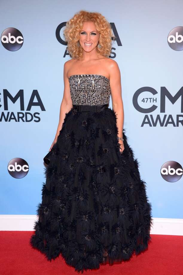 Kimberly Schlapman of Little Big Town attends the 47th annual CMA Awards at the Bridgestone Arena on November 6, 2013 in Nashville, Tennessee. Photo: Michael Loccisano, Getty Images