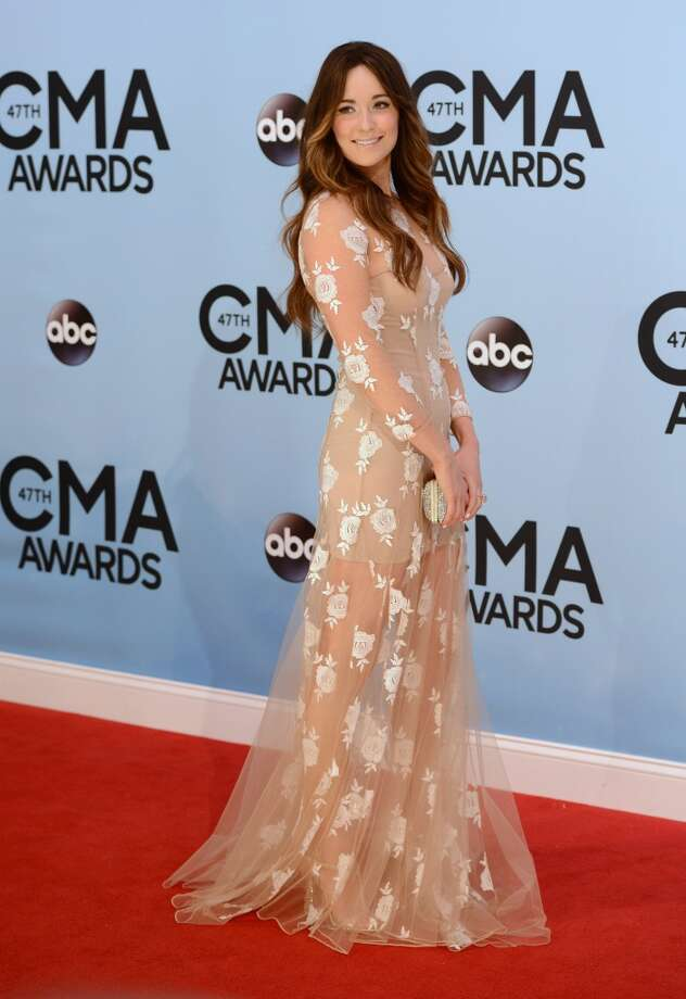 Kacey Musgraves arrives at the 47th annual CMA Awards at Bridgestone Arena on Wednesday, Nov. 6, 2013, in Nashville, Tenn. Photo: Evan Agostini, Associated Press