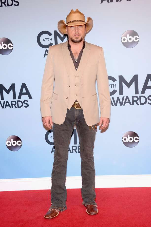 Jason Aldean attends the 47th annual CMA Awards at the Bridgestone Arena on November 6, 2013 in Nashville, Tennessee. Photo: Michael Loccisano, Getty Images