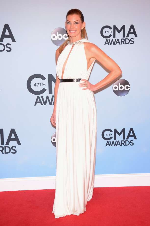 Faith Hill attends the 47th annual CMA Awards at the Bridgestone Arena on November 6, 2013 in Nashville, Tennessee. Photo: Michael Loccisano, Getty Images