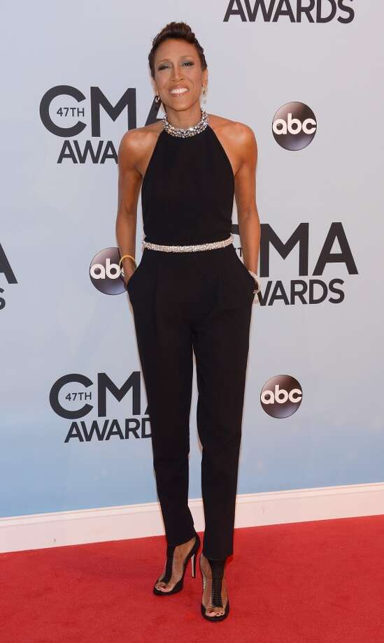 Robin Roberts attends the 47th annual CMA Awards at the Bridgestone Arena on November 6, 2013 in Nashville, Tennessee. Photo: Larry Busacca, WireImage