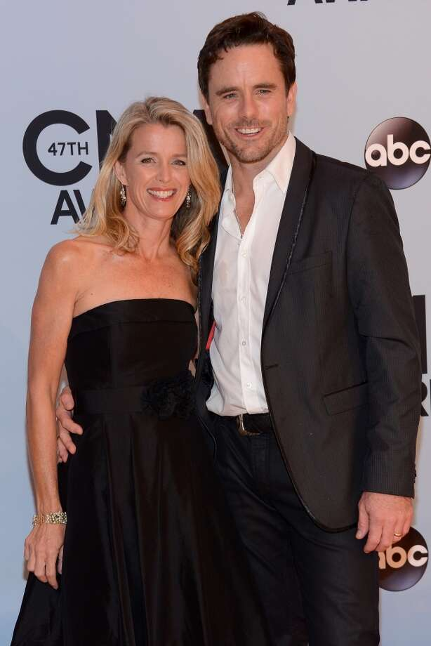 Patty Hanson and Charles Esten attend the 47th annual CMA Awards at the Bridgestone Arena on November 6, 2013 in Nashville, Tennessee. Photo: Larry Busacca, WireImage