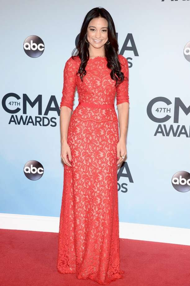 TV Personality Rachel Smith attends the 47th annual CMA Awards at the Bridgestone Arena on November 6, 2013 in Nashville, Tennessee. Photo: Michael Loccisano, Getty Images