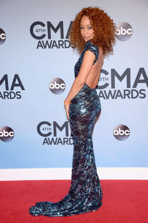 Actress Chaley Rose attends the 47th annual CMA Awards at the Bridgestone Arena on November 6, 2013 in Nashville, Tennessee. Photo: Michael Loccisano, Getty Images