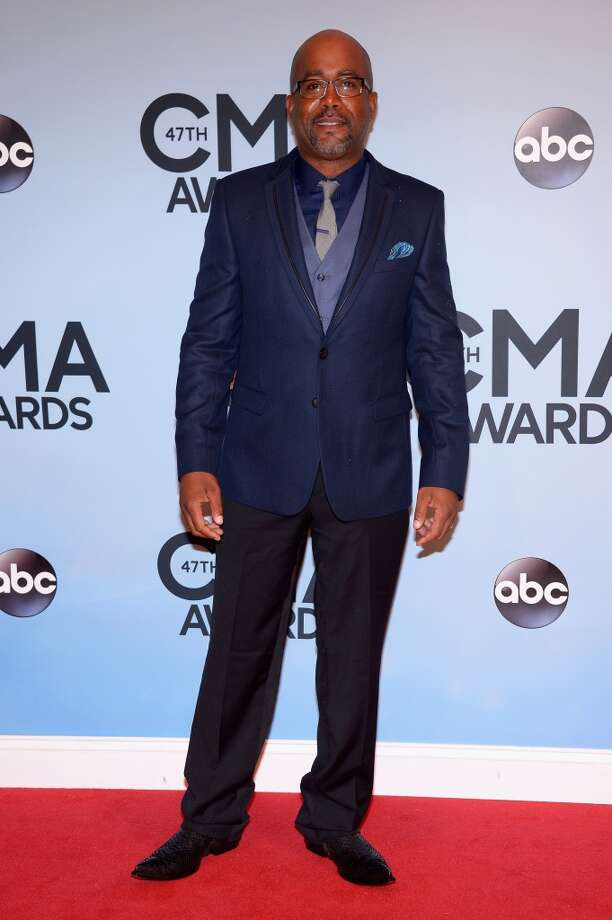 Darius Rucker attends the 47th annual CMA Awards at the Bridgestone Arena on November 6, 2013 in Nashville, Tennessee. Photo: Michael Loccisano, Getty Images