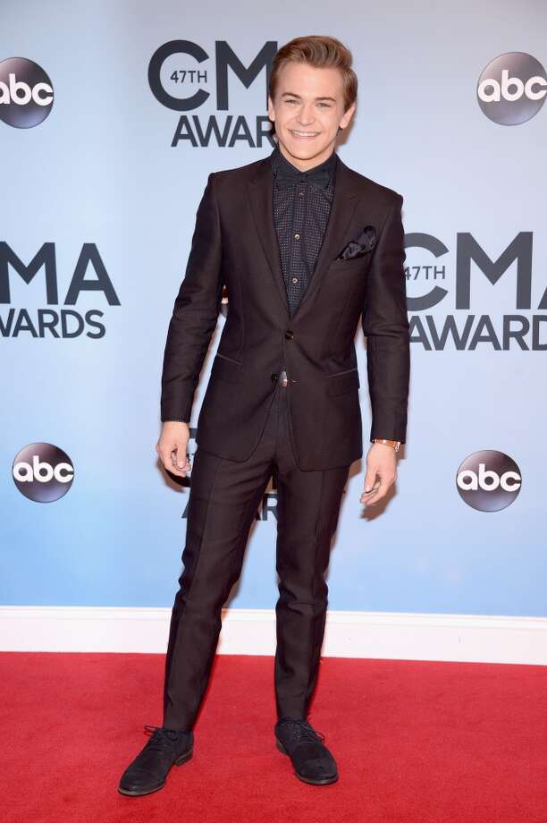 Hunter Hayes attends the 47th annual CMA Awards at the Bridgestone Arena on November 6, 2013 in Nashville, Tennessee. Photo: Michael Loccisano, Getty Images