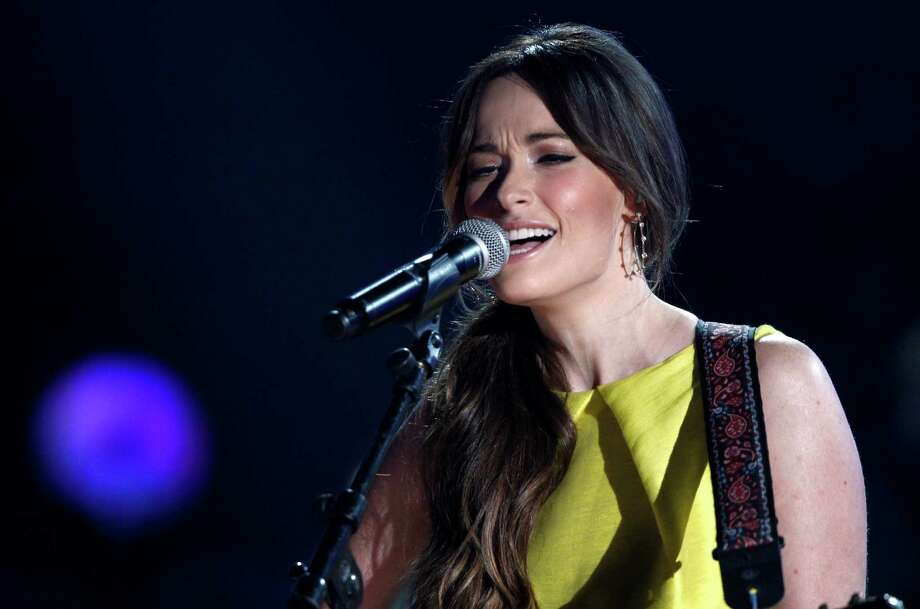 Kacey Musgraves, performs at the CMA Awards on Wednesday. The native of Mineola was named the best new artist. She was nominated for six awards. Photo: Wade Payne, INVL / Invision