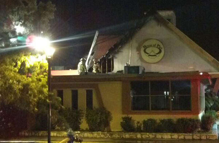 A Twitter photo posted by epikwhite shows the damage to the popular late-night spot House of Pies on Wednesday.
