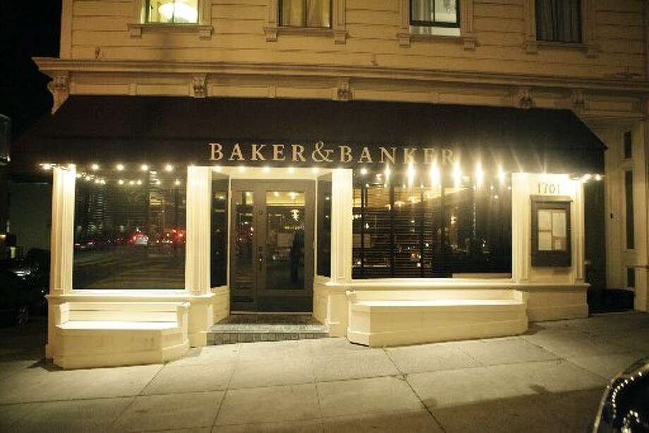 The exterior of Baker & Banker Photo: Lea Suzuki, The San Francisco Chronicle