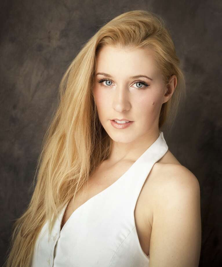 Actress Anna Lakomy of Shelton, Conn. has appeared in 30 independent film projects since launching her acting career last year.