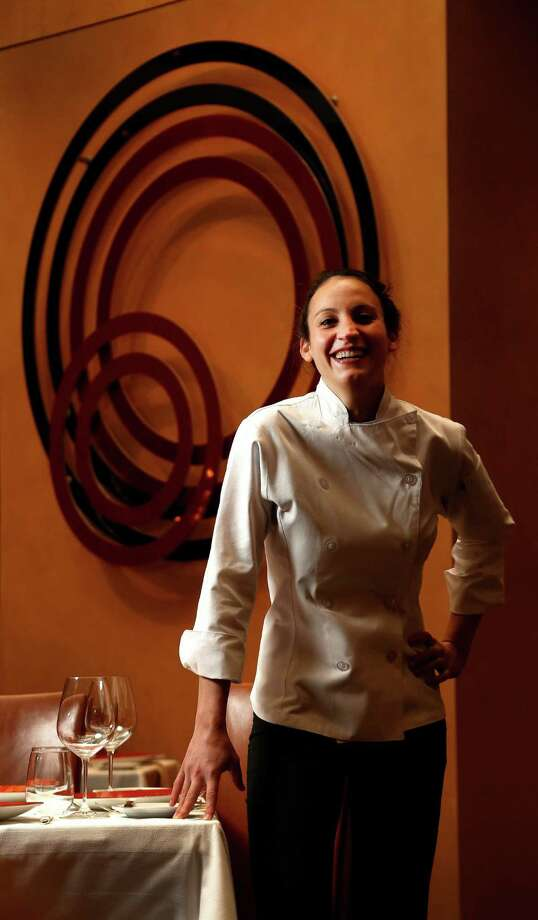 Kate McLean is the new chef de cuisine at Tony's restaurant, a fine dining institution in Houston. She follows Grant Gordon, who is opening Vallone's steakhouse this month. Photo: Karen Warren, Staff / © 2013 Houston Chronicle