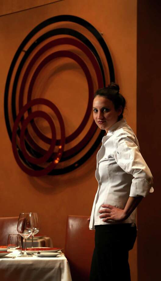 Kate McLean, the first female executive chef at Tony's. Photo: Karen Warren, Staff / © 2013 Houston Chronicle