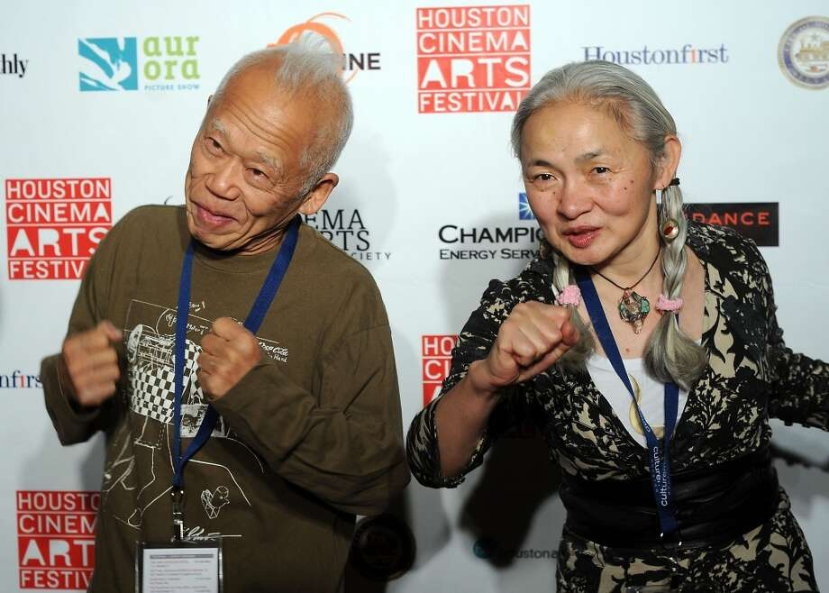 Ushio and Noriko Shinohara Photo: Dave Rossman, For The Houston Chronicle