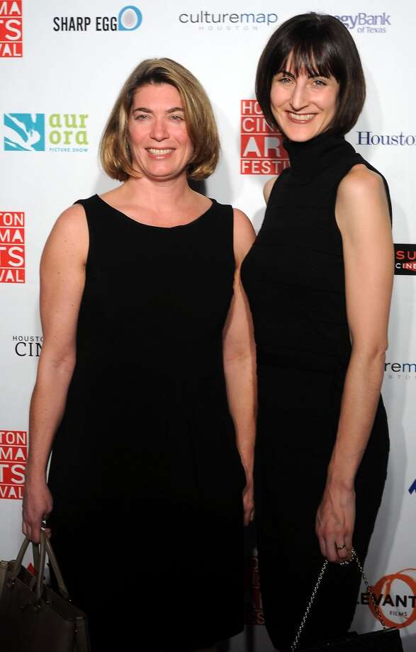 Claudia Schmuckli and Emily Church Photo: Dave Rossman, For The Houston Chronicle