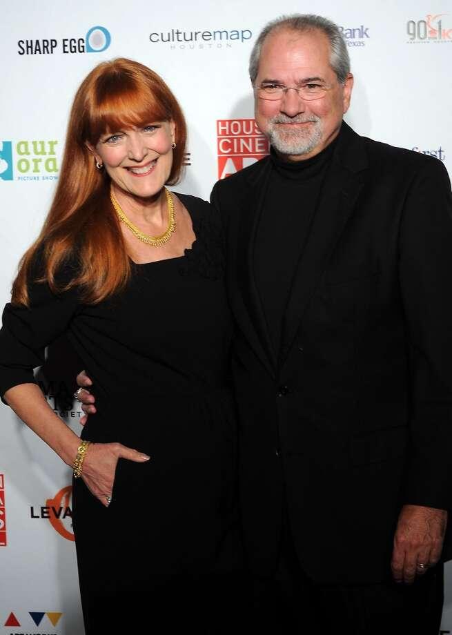 Gracie and Bob Cavnar Photo: Dave Rossman, For The Houston Chronicle