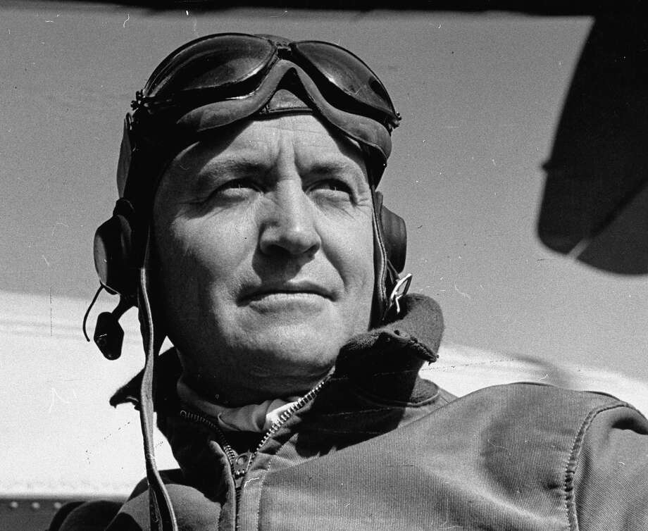 Commander Forrest P. Sherman, wearing his pilot gear, 1938. Photo: Paul Dorsey, Time & Life Pictures/Getty Image / Time Life Pictures