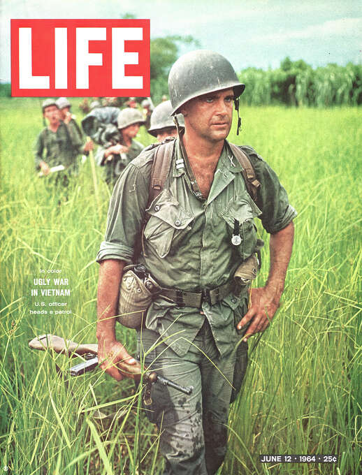 Cover of LIFE magazine dated June 12, 1964. Photo: Larry Burrows, Time & Life Pictures/Getty Image / Time Life Pictures