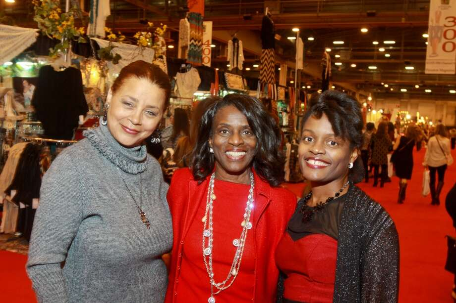 Mary Bossett, from left, Judge Clarease Yates and Donna Mitchell Photo: Gary Fountain, For The Chronicle