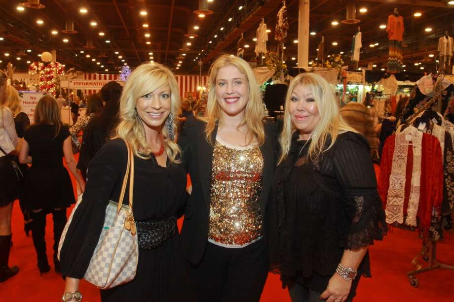 Britney Smith, from left, Jennifer Roosth and Lara Bell Photo: Gary Fountain, For The Chronicle