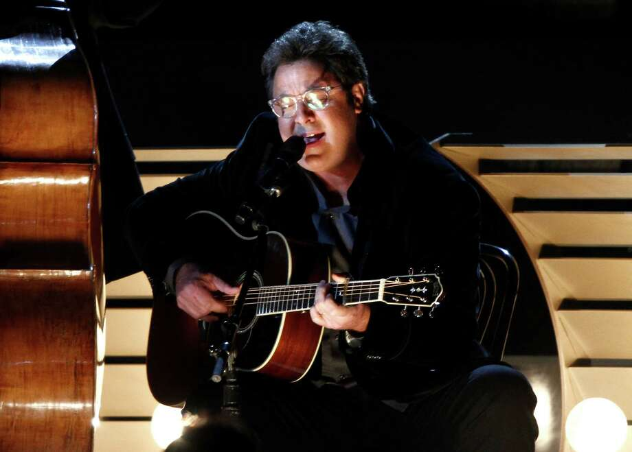 Vince Gill performs at the 47th annual CMA Awards at Bridgestone Arena on Wednesday, Nov. 6, 2013, in Nashville, Tenn. (Photo by Wade Payne/Invision/AP) ORG XMIT: TNDC242 Photo: Wade Payne, AP / Invision