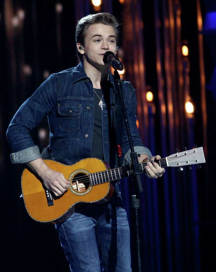 Hunter Hayes performs at the 47th annual CMA Awards at Bridgestone Arena on Wednesday, Nov. 6, 2013, in Nashville, Tenn. (Photo by Wade Payne/Invision/AP) ORG XMIT: TNDC257 Photo: Wade Payne, AP / Invision