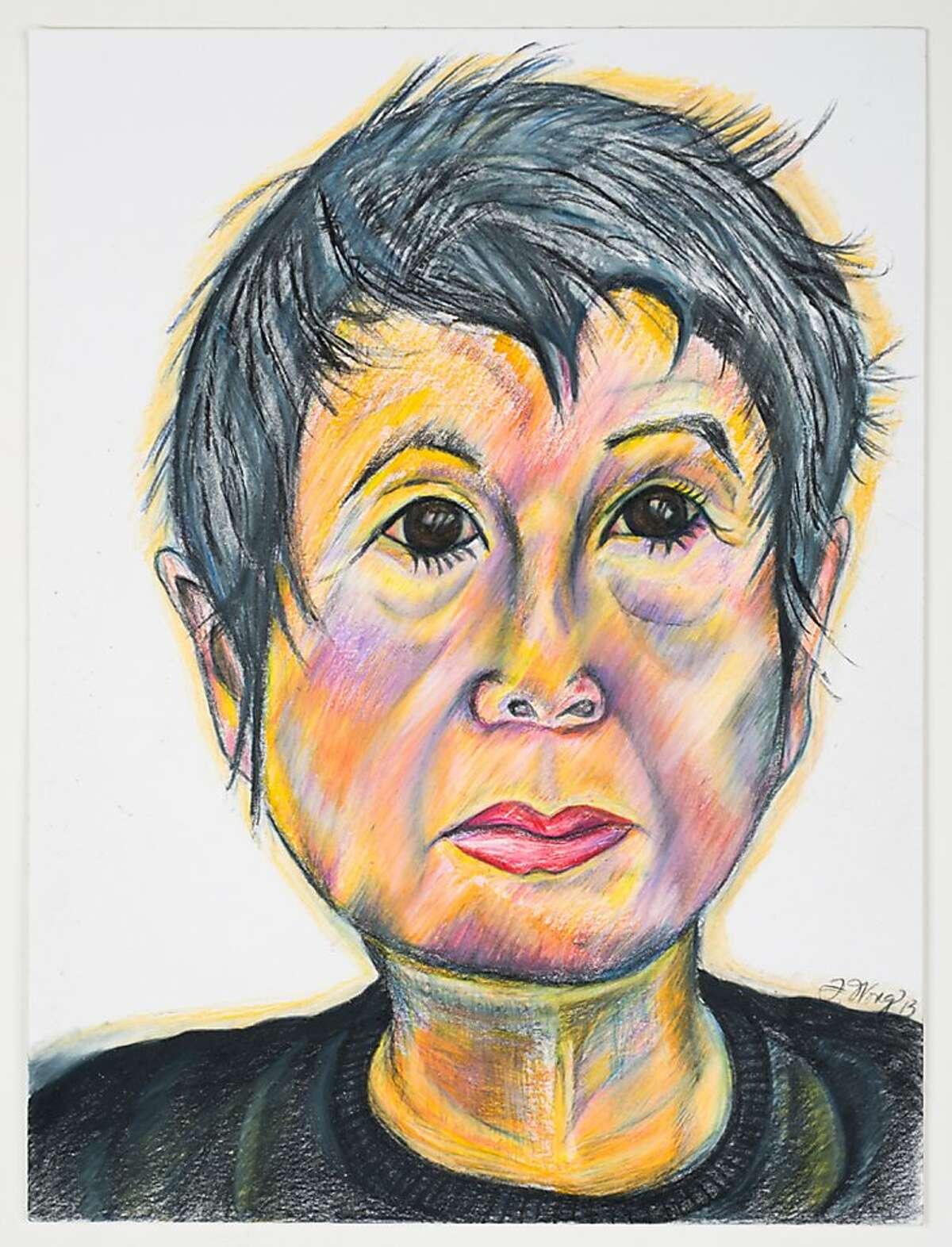Flo Oy Wong's Self-portrait, 2013, 9