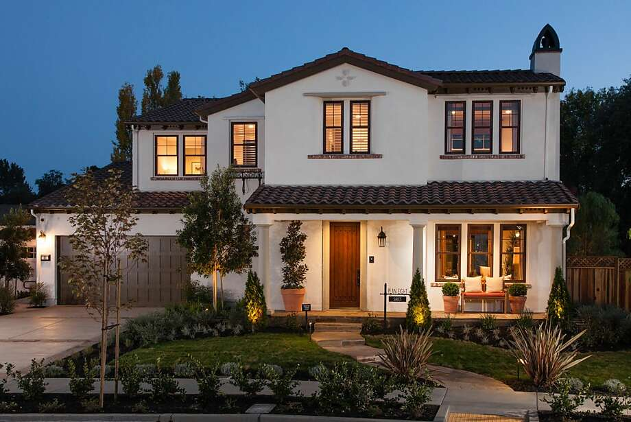 This Spanish Mediterranean model with four bedrooms and 3.5 bathrooms is one of 85 new homes planned in Larkspur. Photo: Christopher Mayer Photography